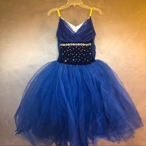 Dresses & Skirts - Final Sale Curtain Call:Blue & Silver Ballet Tutu
